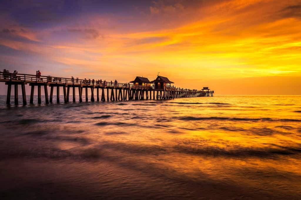 Naples Beach, Naples Pier, Naples Florida, Paradise Coast, Paradise, Beach, Sunset, Sand