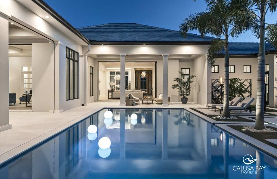 Pelican Bay New Construction, Naples FL real estate, Pelican Bay homes for sale