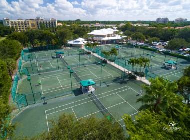 18 Har-Tru Tennis Courts
