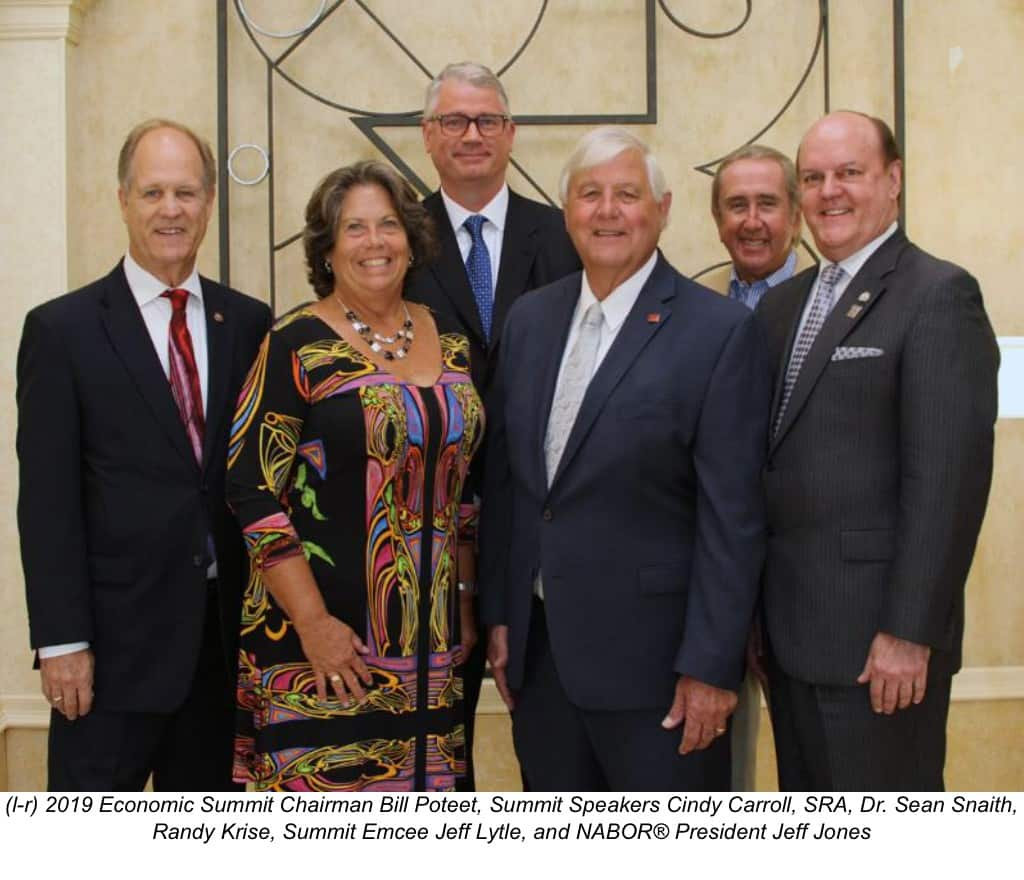 2019 NABOR Economic Summit, market update, real estate, Naples, Florida, market report